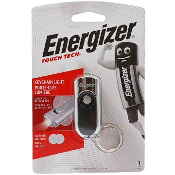 Energizer LED Touch Tech Mini Key Ring Torch Light